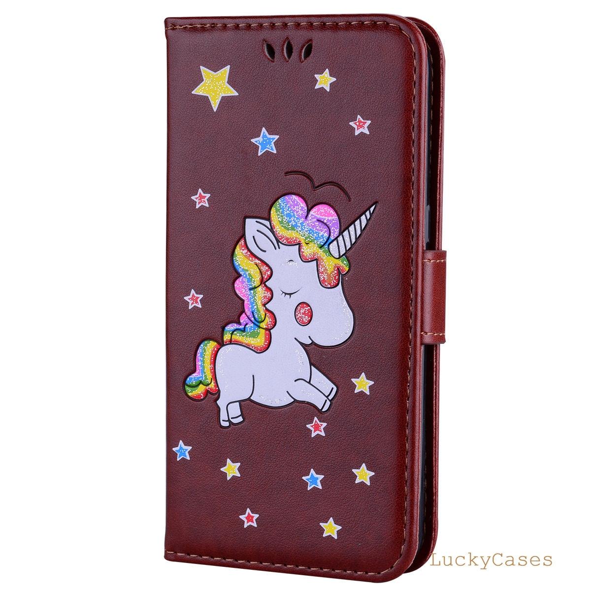 FGHGF for Samsung S7 EDGE phone Case Unicorn Flip Wallet Leather Cases for Samsung S7 EDGE Covers Luxury Capa