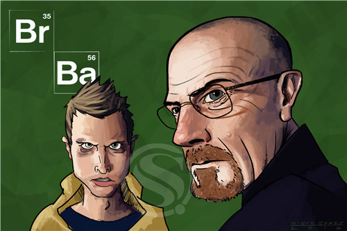 New Breaking Bad Walter Poster Custom Canvas Poster Art Home Decoration Cloth Fabric Wall Poster Print Silk Fabric