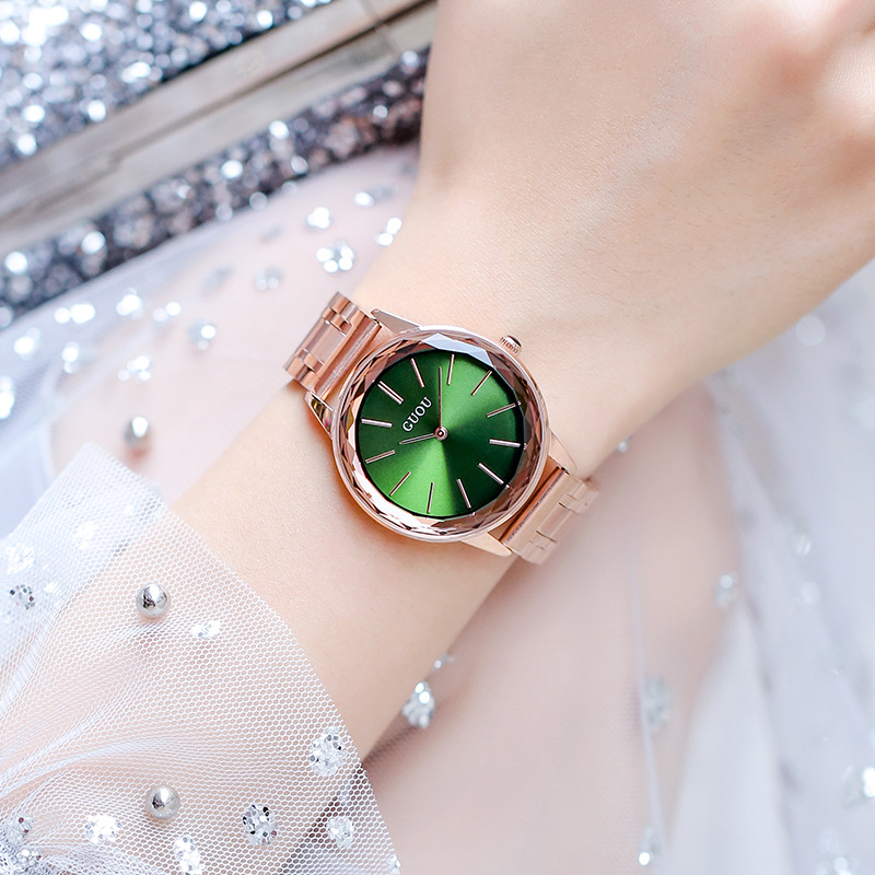 Minimalist Luxury Rose Gold Women's Watch Full Stainless Steel Ladies Dress Casual Wristwatch Female Elegant Watches reloj mujer