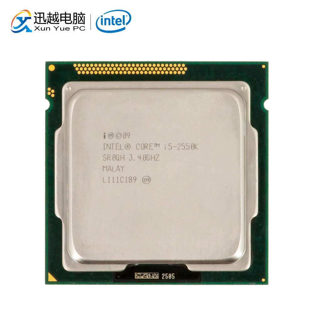 Intel Core I5-2550K Desktop Processor I5 2550K Quad-Core 3.4GHz 6MB L3 Cache LGA 1155 Server Used CPU