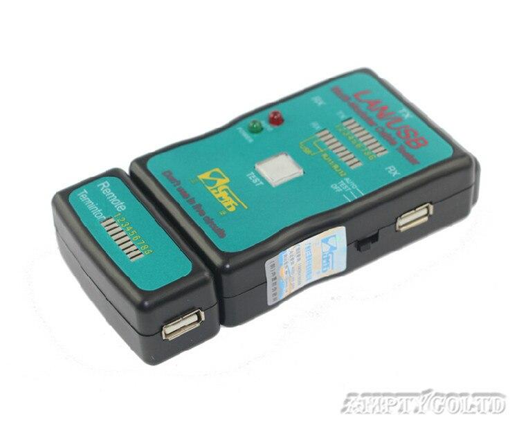 Multifonctionnel instrument de mesure ligne CT-168 usb ethernet câble cordon téléphonique testeur batterie