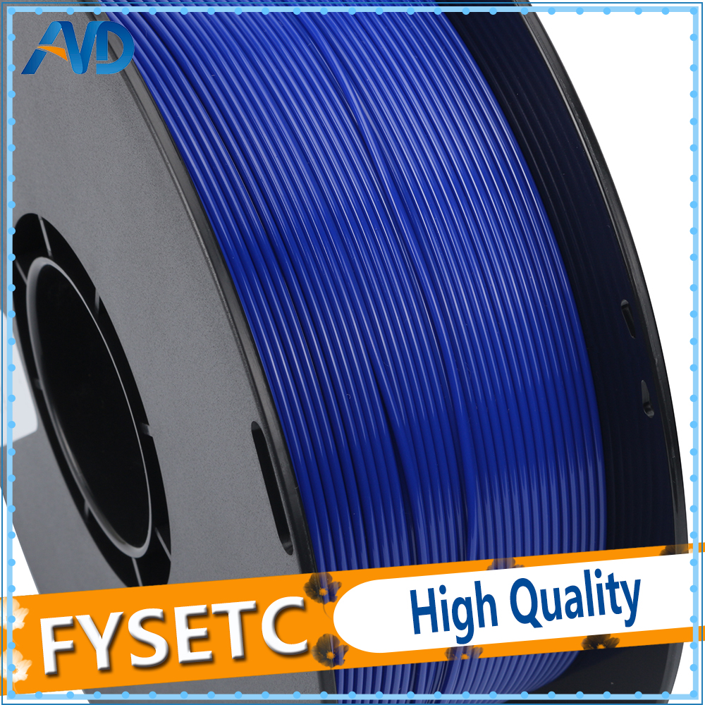 New Printing Materials 1.75mm 1kg/2.2lbs PETG Filament Blue Color 1.75 PETG Filament VS ABS/PLA For 3D Printer/3D Pen abs filament 1 75 in yellow color 1kg