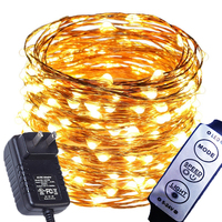 8 Model Dimmable 99ft 30M 300 LEDs LED Fairy String Lights Outdoor Waterproof Decoration For Christmas