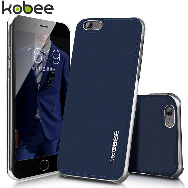 Cubierta para iphone 6 6 s funda de cuero luxuy espalda coque de fundas de piel