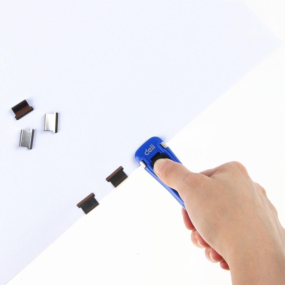 (8 pièces recharges + 1 Clip)/ensemble coréen Mini métal papier Clipper école bureau accessoires fournitures papeterie 40 feuille capacité