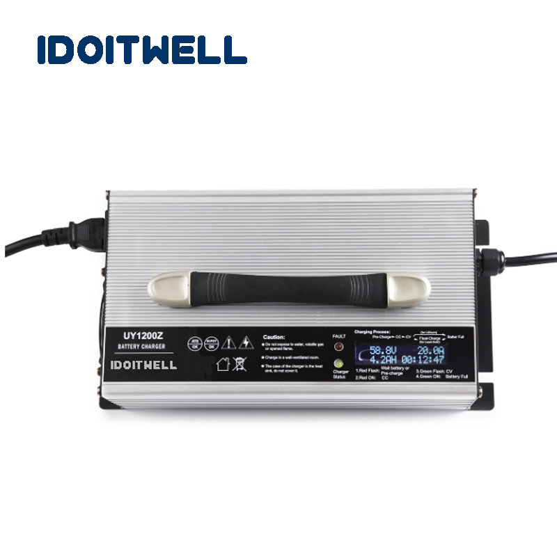 Intelligent <font><b>12V</b></font> 50A <font><b>lifepo4</b></font> battery charger 14.6V 50A 4S <font><b>lifepo4</b></font> battery Charger 12 Volt <font><b>150AH</b></font> 200AH 250AH Battery pack charger image