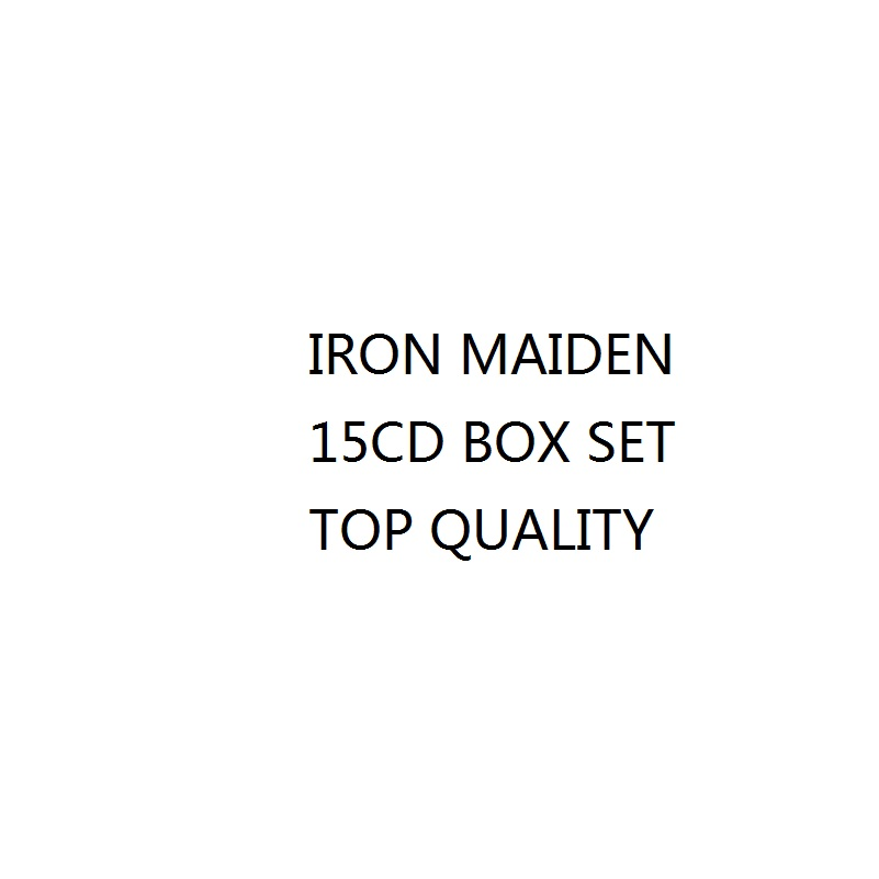 Wholesale High quality Iron Maid 15CD Music CD Full Box Set Factory Sealed Heavy Metal CD Box set dropshipping order welcome! cd диск pink floyd wish you were here immersion box set 5 cd