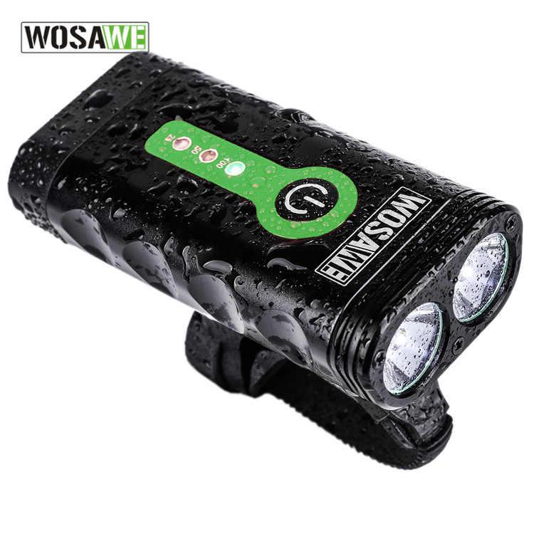 2400 люмен двойной светодиодный фонарик USB фонарик mtb luz bicicleta lumiere вело eclairage вело fahrrad licht спереди велосипед света