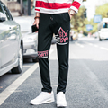 M-3XL Autumn New Black  Print Pantalon Deporte Hombre  Pants Men Casual Mens Harem Pants P861