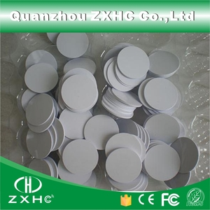 Image 3 - (10pcs) Round Shape 25mm NFC Tag Ntag216 888 Bytes Plastic PVC Coin Cards Used For Android,IOS And All NFC Phone