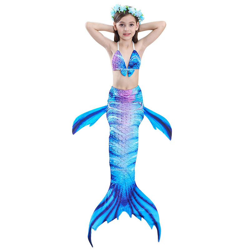 girls mermaid tail swimwear 1-5