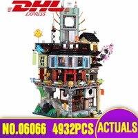 DHL Лепин 06066 город серии Строительство Модель модульных блоков подростков игрушки Кирпичи совместимы legoing 70620 как подарок