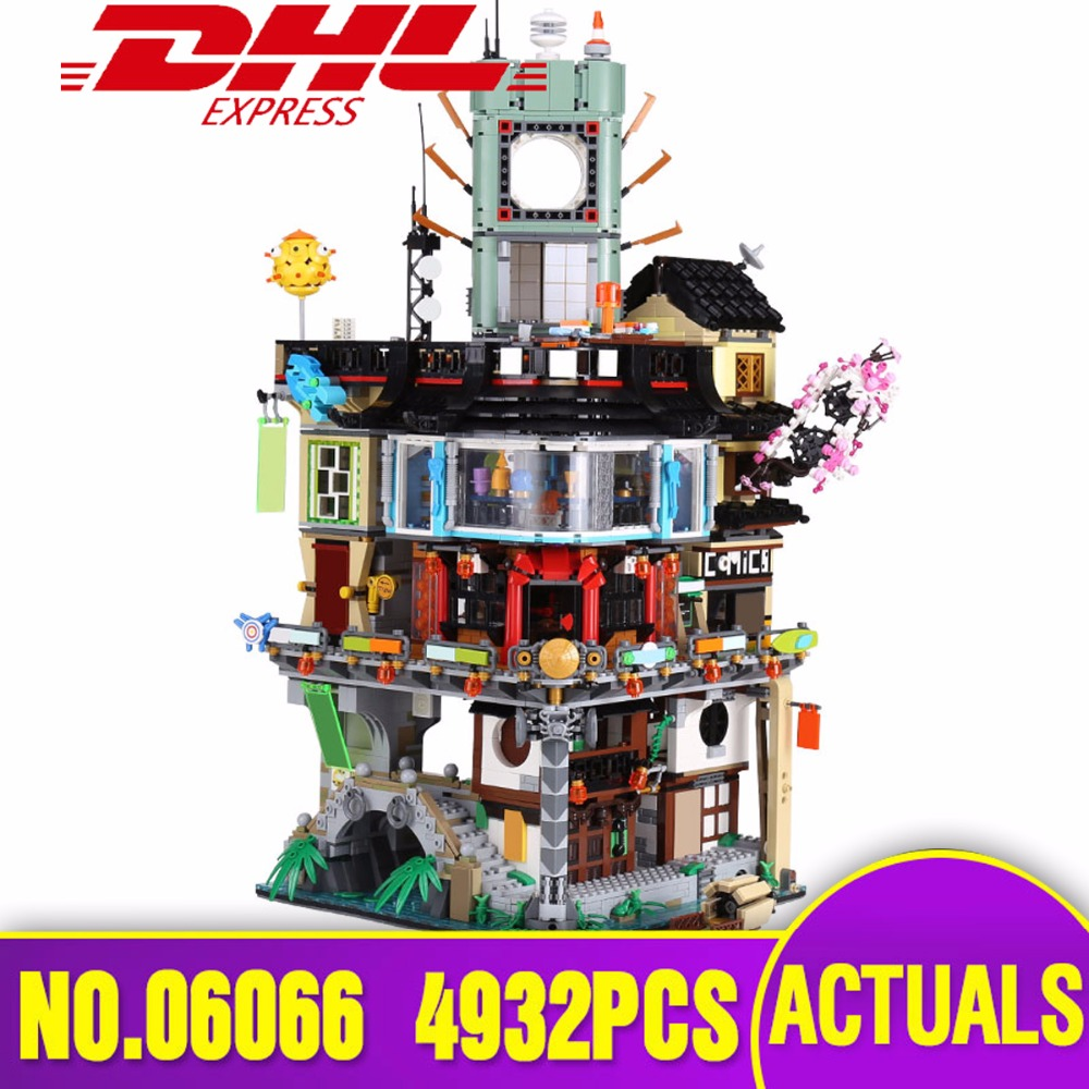 DHL Lepin 06066 City Series Construction Model Modular Building Blocks Teenagers Toys Bricks Compatible legoing 70620 as Gift lepin 02012 city deepwater exploration vessel 60095 building blocks policeman toys children compatible with lego gift kid sets