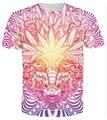 Transporte da gota! Verão 3d mulheres homens erva de t-shirt do estilo baphomet T plus size S-XXXL