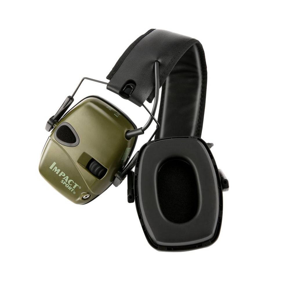 Tactical Hunting Shooting Anti-noise Headset Outdoor Sports Earmuff  Sound Amplification Electronic Hearing Protective 2019 Hot