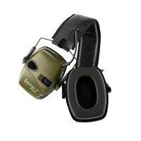 Tiro de caça tático anti ruído fone de ouvido esportes ao ar livre earmuff amplificador de som eletrônico proteção auditiva 2019 quente|Protetor auricular| |  -