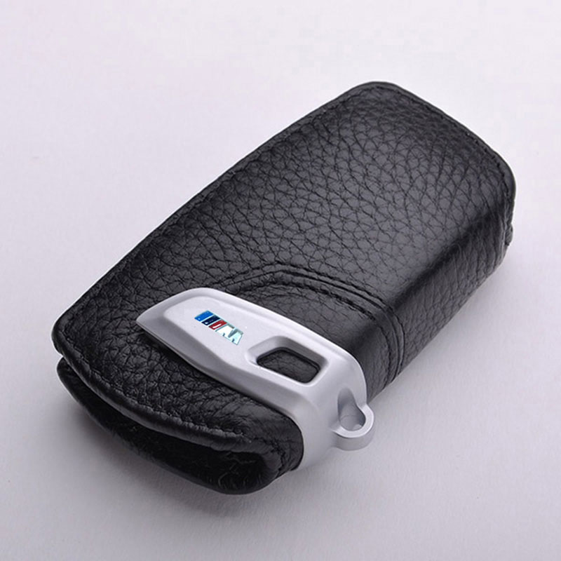 Car Styling Leather Key Case For BMW F30 F10 F20 M X3 F25 F15 X4 1 2 3 5 4 7 Series For Bmw F30 Accessories Key Cover Case