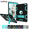 Shockproof Case For IPad 9 7 2017 Hard PC Back Cover Soft Silicone Bumper Edge Heavy