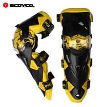 Scoyco K12 Motorcycle Knee Protector High Quality Sports Scooter Motor-Racing Guard Safety Accessories&Parts Free Shipping