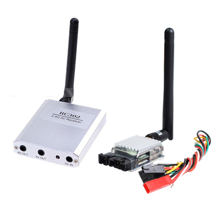 Xiangtat Boscam FPV 2.4G 500MW 8CH AV Wireless TS321 Transmitter and RC302 Receiver boscam dv01s fpv 8 channel 5 8g wireless receiver dvr wireless audio
