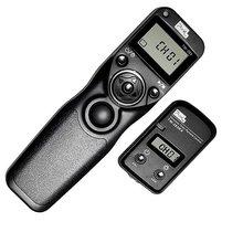 PIXEL TW-283/DC0 lcd беспроводной спуск затвора Таймер Пульт дистанционного управления для Nikon D800, D810, D700