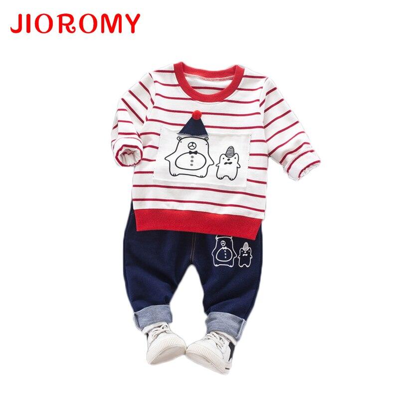 JIOROMY Abbigliamento per ragazzi Set 2019 Autunno Novità Abiti per - Vestiti per bambini