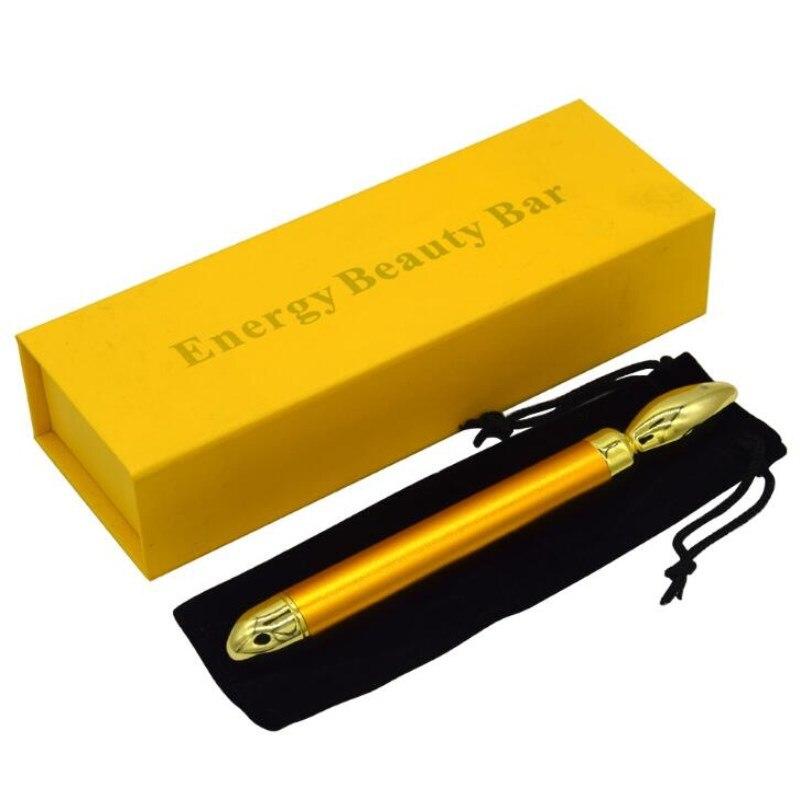 Modesto Nuovo Sopracciglio Colorazione Bar 24 K Oro Semi Permanente Di Trucco Coreano No Crosta Nebbia Sopracciglio Colorazione Misuratore Di Vibrazioni Oro Strumento