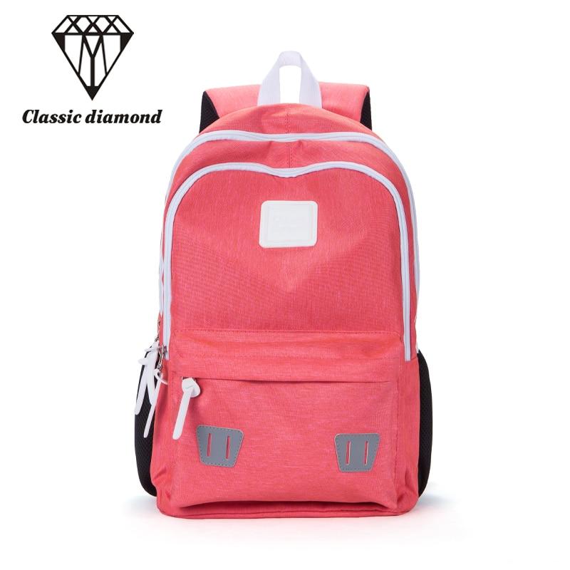 Casual Women Nylon Backpacks 2018 Fashion Backpack For Teenage Girls School Bags Female Bolsa Mochila Waterproof Travel Bagpack