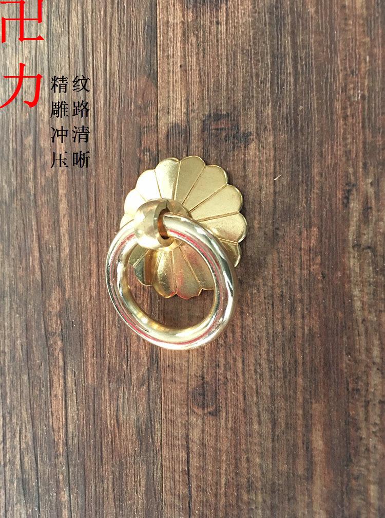 Китайский антикварная мебель классическая современный минималистский чайный сад медь Дверь ящика керамический горшок медь ручкой