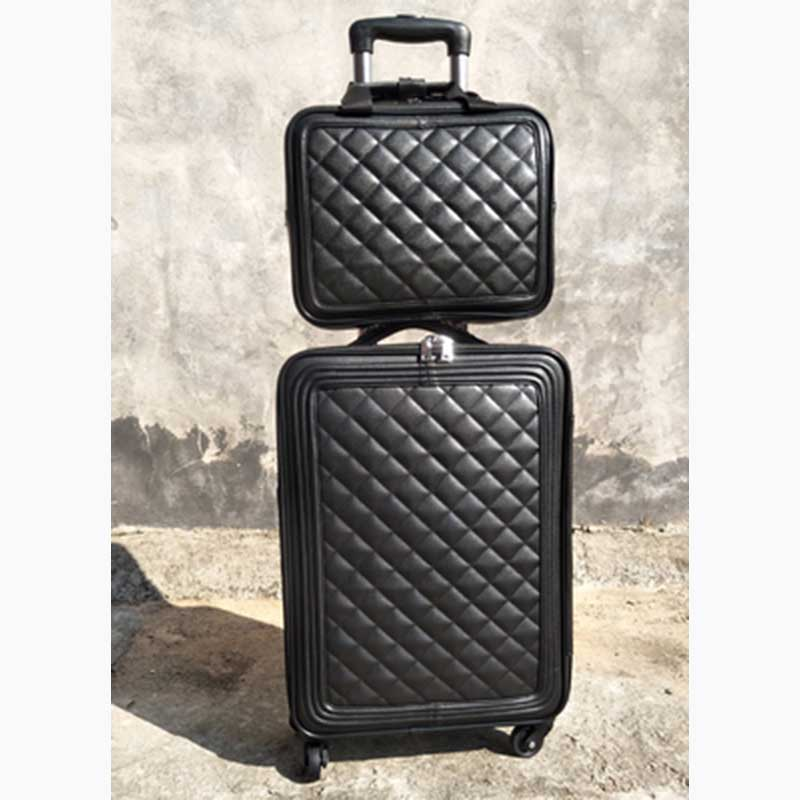 BeaSumore Retro Men PU Leather Rolling Luggage Sets spinner Travel bag Trolley Women Suitcase Wheels 16/20 inch Cabin TrunkBeaSumore Retro Men PU Leather Rolling Luggage Sets spinner Travel bag Trolley Women Suitcase Wheels 16/20 inch Cabin Trunk