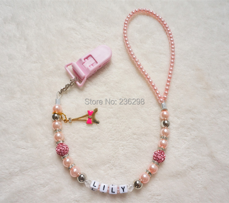 MIYOCAR Personalized -Any name Customized Bling rhinestone klip - Memakan kanak-kanak - Foto 5
