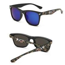 Камуфляжная оправа поляризованные солнцезащитные очки для мужчин модный бренд роскошные летние