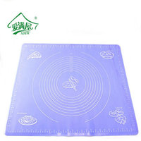 60 50cm Eco Friendly Large Silicone Mat Kneading Dough Pad Baking And Pastry Tools