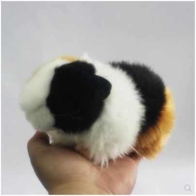 2019 nuovo arrivo little cute Simulazione bambola criceto giocattoli di peluche guinea pig bambole inviato gli uomini e le donne gli amici regalo