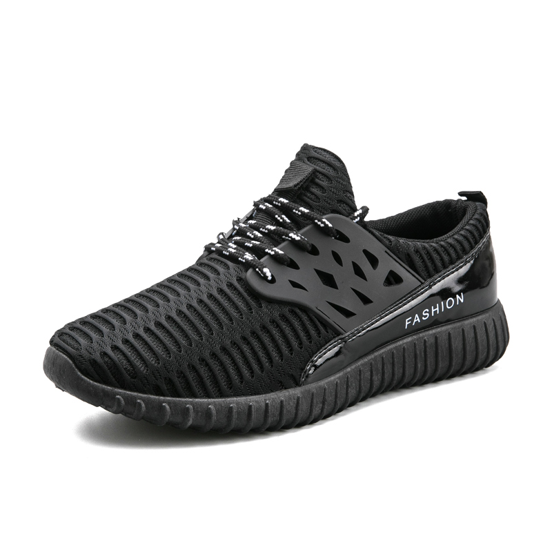 Новые модели обуви спорт Для мужчин s спортивные кроссовки сезон: весна–лето кроссовки для Для мужчин Черный, серый цвет Для мужчин s бегун к...