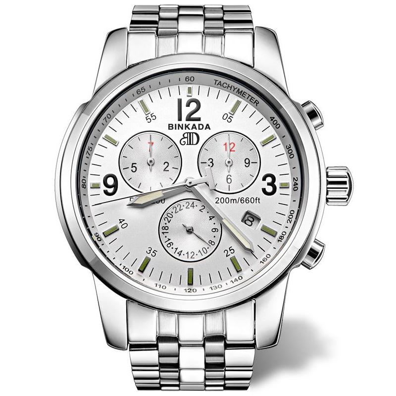 Reloj mecánico automático de los hombres de negocios informal 2018 - Relojes para hombres - foto 2