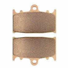 Motorcycle Front Brake Pads Kit For SUZUKI GSXR 600 1997-2003 GSX 650 2008-2010 GSXR 750 2000-2003 SV1000 2003-2007 стоимость