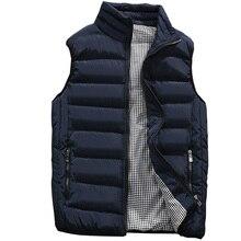 Gli Uomini della maglia 2020 Nuovo Autunno Caldo di Inverno Senza Maniche Giacca Gilet Uomini di Modo della Maglia Casual Cappotti Mens 5XL