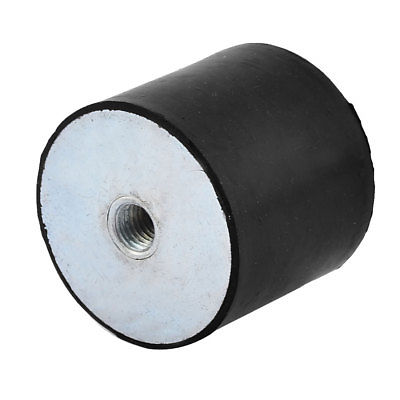 M10 Female Thread Dual Side Anti Vibration Rubber Mount Isolator Bobbin 50x40mm Suitable For Men And Women Of All Ages In All Seasons