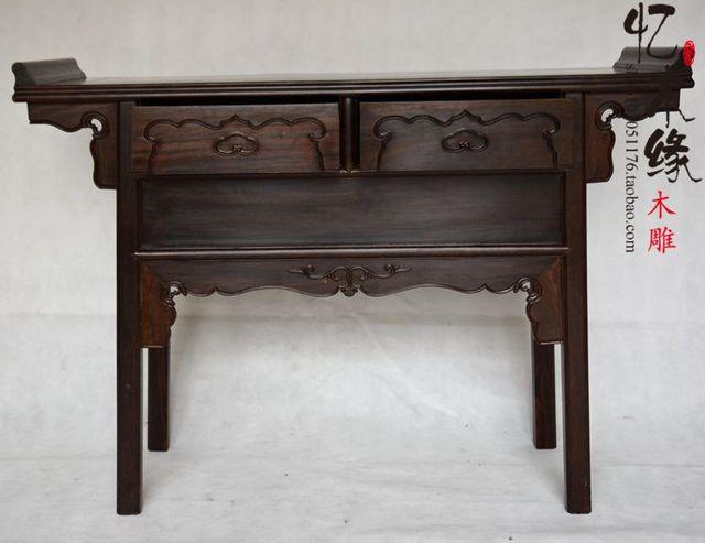 US $2100.0 |Tavolo mobili in mogano mogano ebano legno antico bar per la  sala d\'ingresso di Ming e Qing Classica Ta in Tavolo mobili in mogano  mogano ...