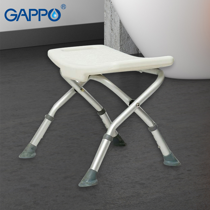 Bathroom Fixtures Gappo Wall Mounted Shower Seats Trainer Bathroom Toilet Adjustable Folding Bathroom Seats Toilet Seats