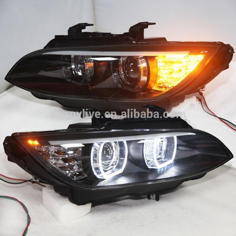LED Фары для автомобиля для M3 328i купе 335i 330i E92 E93 фар оригинальный автомобиль AFS 2006-20012year