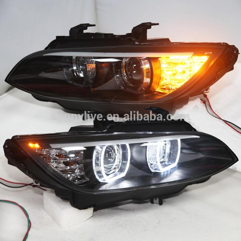 LED Phares pour M3 328i coupé 335i 330i E92 E93 tête lampes de voiture D'origine AFS 2006-20012Year