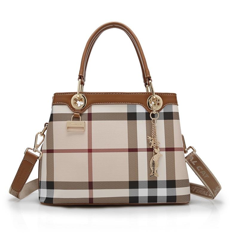 Women Bag Luxury Leather Handbags Fashion Women Famous Brands Designer Handbag High Quality Brand Female Shoulder Bags led qty 4 interior footwell lights