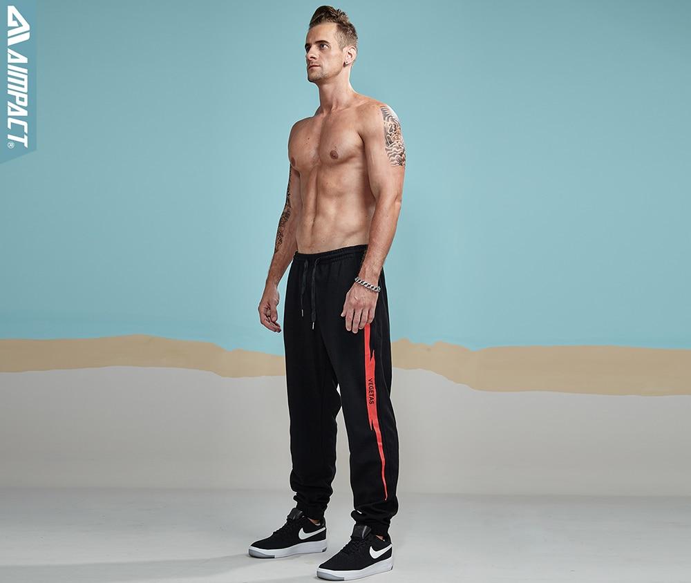 Aimpact 2018 New Casual Jogger Pants Men Active Elastic Urban Biker Pant Man Cotton Drawstring Sweatpants Male Track Pant AM5003 (10)