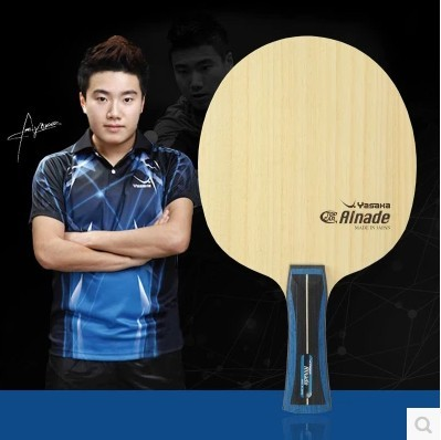 Original NEW Yasaka Alnade Liang Jinkun 5 Arylate Carbon ALC Long 3 Wood Professional Table Tennis Blade alc f77s