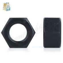 Nuts-Grade Black 100pcs Hex-Nut Carbon-Steel M4 M2.5 M6 M3 DIN934 M5 HW044 Hexagonal