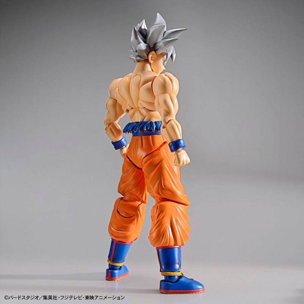 "Original BANDAI Figure-rise Standard Assembly Action Figure – Son Goku (Ultra Instinct) Plastic Model ""Dragon Ball SUPER"""