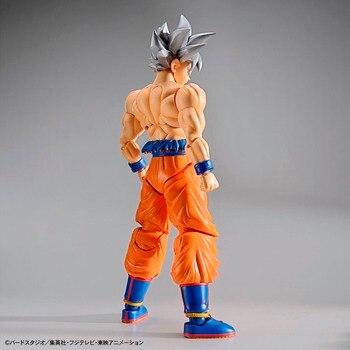 "Original BANDAI Figure-rise Standard Assembly Action Figure – Son Goku (Ultra Instinct) Plastic Model ""Dragon Ball SUPER"""