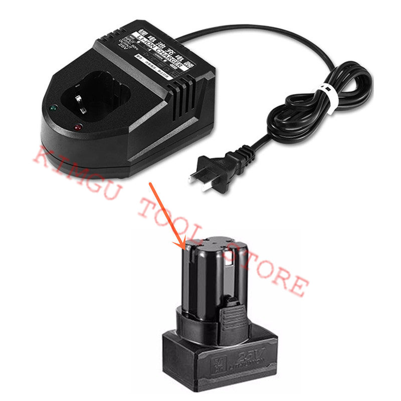 AC220V-240V Charger for CHINA <font><b>LONGYUN</b></font> 24V 25V Li-Ion Battery Cordless Drill Driver <font><b>Screwdrive</b></font> image